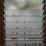 lovely vintage swivel glass windows