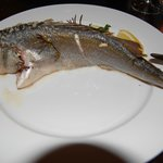 Seabass with rosemary anf thyme