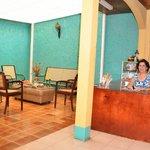 Recepción Hotel Villa Hermosa