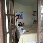 Vista interna del dormitorio