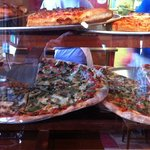 many slices to choose from for walk ins, square or triangle