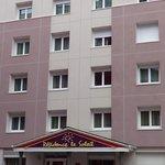 The facade I