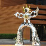 Street Sculpture in downtown Charlotte