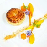 Wellington on a Plate winner 2012 - Victor's rabbit pie & textures of Otaki carrots