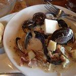 Best clam chowder ever!