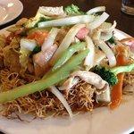 Pan-fried noodles