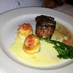 Scallops and filet combo - Hyde Park