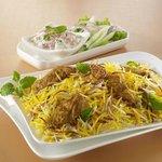 Authentic Muslim Dum Mutton Biryani @ Hajeeras Kitchen