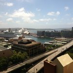 Circular Quay from our room