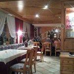 un lato della sala ristorante