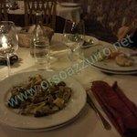 cena...una delle portate....