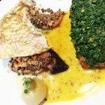 Mustard Crusted Scottish Salmon
