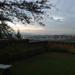 view of Kigali - evening