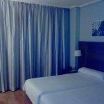 Habitación de dos camas sencillas