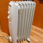 """Radiador para """"ayudar"""" a la calefacción"""