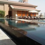 Sheraton Dubai swimming pool terrace