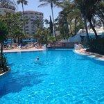 beautiful pool and poolside