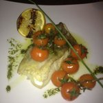 Cod with vine tomatoes