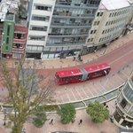 Vista desde arriba la ciudad