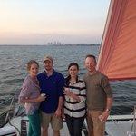 Sunset sail!