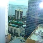 Foto tirada do apartamento