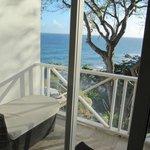 Blick auf Balkon und Atlantik
