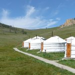 Ayanchin Lodge : les yourtes (8)