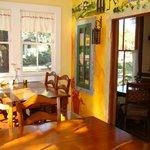 Sun Room Seating inside the Historic Vidal House