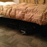 Space Under the Bed for luggage