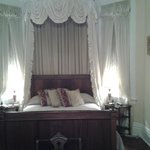Bed alcove...room is very large