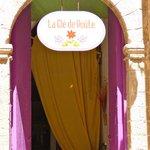 l'ingresso del ristorante