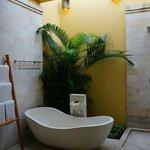 Bath room - huge with open shower