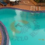 The pool from my balcony