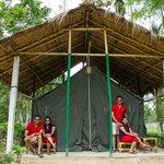 Tent @ Nature Hunt Eco-Camp