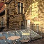 Surprise roof-terrace