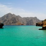 Cristal clear water of Musandam