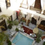 Riad from the Terrace