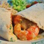 Baja Shrimp Burrito