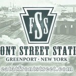 Front Street Station business card