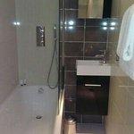Small but modern bathroom