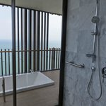 Shower and balcony spa