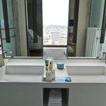 Great bathroom view