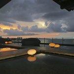 Sunset view from Drift Bar