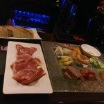 IKKI mixed tapas plate