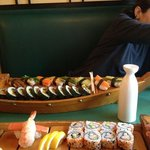 boatloads of great sushi!
