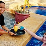 Pool Bar Service