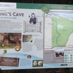 information board about the caves