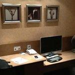 Pleasant decor in the room