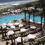 Pool area of Omni resort