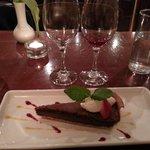 Chocolate & Espresso Tart